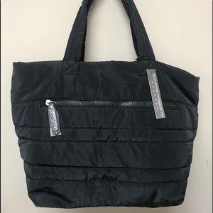 Sondra Roberts New Style Puffer Tote-Black, NWT